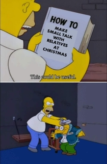 How to make small talk with relatives at Christmas