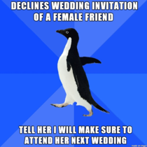 How to not decline wedding invitations