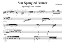 How to sing the National Anthem for a sporting event