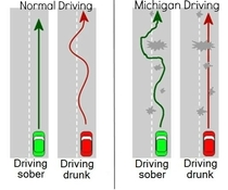 How to spot drunk drivers in Michigan