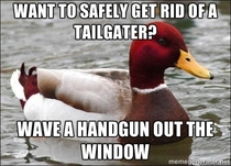 How to stop tailgating without causing an accident