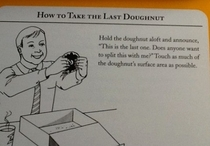 How to take the last donut