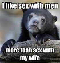 Hows this for a confession bear