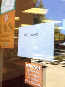 HR at popeyes