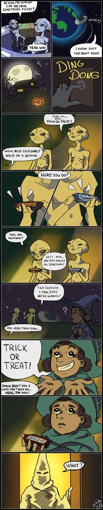 Hungry Aliens
