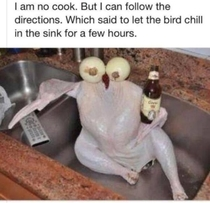 I aint no cook but I can follow instructions