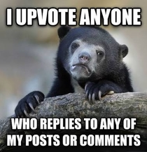 I always do unless its a bad comment