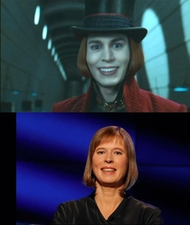 I always felt like the new president of Estonia reminded me of someone now i know