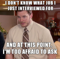 I applied months ago apparently Phone interview went great