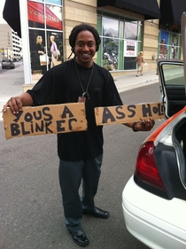 I asked my Jamaican Taxi Driver in Denver what the signs in his trunk were for
