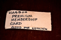 I asked my local liquor store if they had a membership program I was given this