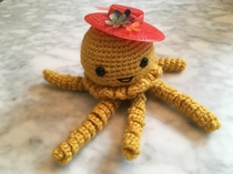 I asked my wife if she could crochet me a Sentinel from The Matrix Shes never seen the movie