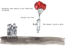 I aspire to be Tim