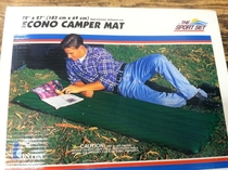 I bet its a lot more comfortable if you are actually on the mat itself