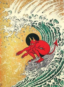 I cant drown my demons They know how to surf