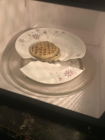 I cant even make waffles properly