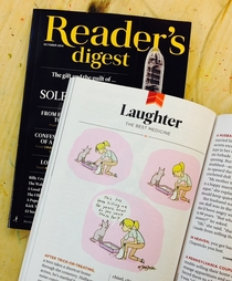 I created it for Reddit Now its reprinted in Readers Digest