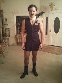 I decided to get a little creative this year I present Edgar Allan Ho