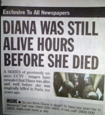 i didnt know she was alive before she died