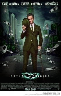I dont care who batman is as long as this guys the riddler