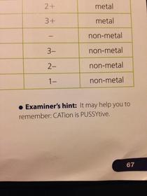 I dont know what my chem textbook was thinking