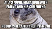 I dont know why she stayed for the last two movies