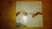 I dont mean to brag but I just put a puzzle together in one day and the box said - years