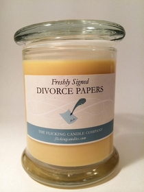 I dont own one of these candles but I imagine that it smells like my money burning at a record pace