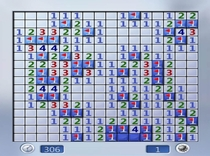 I dont play minesweeper very often tonight I was reminded why
