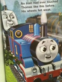 I dont remember this in Thomas the Tank Engine