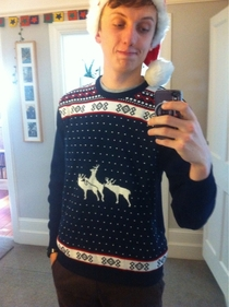 I dont think my mum paid attention to the jumper she got me for Christmas