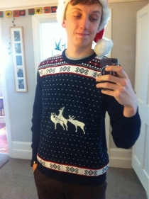 I dont think my mum paid attention to the jumper she got me for Xmas