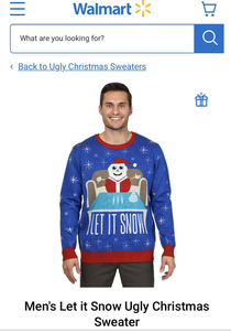 I dont think Walmart paid attention to what this snowman is about to do