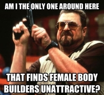 I dont understand the attraction to a woman that is built like a man