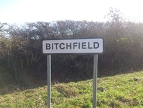 I drove my lorry through this townvillage today Thought the name was interesting
