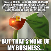 I expect no empathy from the weed smokersBut its a truth nonetheless and perhaps it will one day finally change