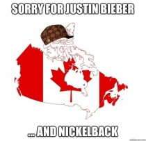 I feel like we never formally apologized so on behalf of Canada