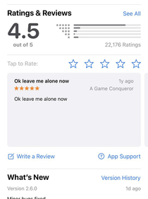 I feel this persons pain Probably had the pop-up  times before they finally caved and left a review