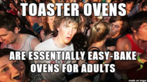 I finally know why I love my toaster oven so much