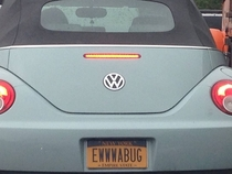I find few vanity plates clever