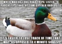 I find this works extremely well especially if youre making the journey alone