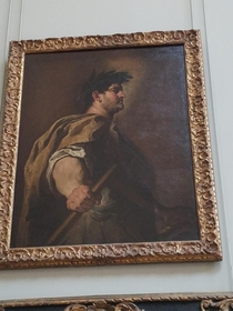 I found john belushi at the Louvre today