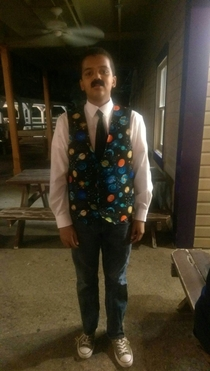 I found some guy dressed up as Neil Degrasse Tyson