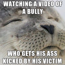 I generally dont condone violence but I cant help this feeling