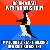 I get extremely nervous on dates Im American