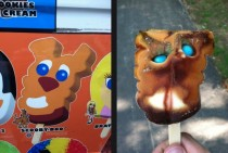I got excited for gumball eyes when I heard the ice cream truck approach the park May I have a Scooby-Doo I asked Then this