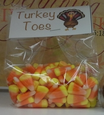 I guess thats one way to try and get rid of unsold Candy Corn