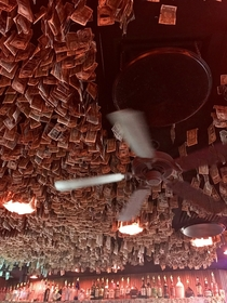 I have k in student loan debt and this place has the audacity to just dangle money from the ceilings Rude