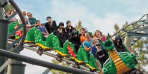 I have too much time on my hands and photoshopped Harajuku goths onto a roller coaster
