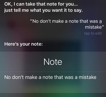 I honestly think Siri does this just to mock me